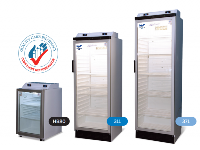 New QCPP Vaccine Fridge range added for short- and long-term rental